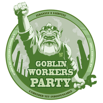 Goblin Workers Party by Xatchett