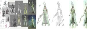 Ghilan'nain Dragon Age Step by step by vertry