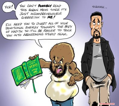 Kirby Weaponizes the Hadith (poorly) by mrasheed