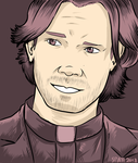 Sam Winchester by Spatterat