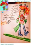 My Little Bird Oc (Traditional) by Coffee-Karin