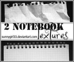 Notebook_textures_2 by SunnyGirl33