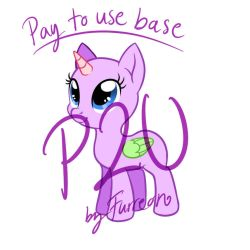 MLP P2U Base [Sai/Psd/Binary aka Paint Friendly!] by Furreon