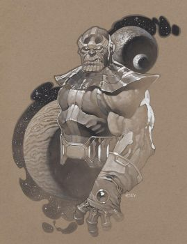 Thanos tonal by ChristopherStevens