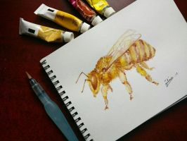 BEE by juliamtart