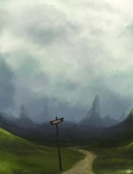 Road to Ademre by Xelgot
