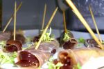 Parma ham canapes by richardnorth
