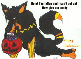 Happy Halloween 2008 by UtterPsychosis