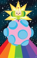 Katamari Damacy Print by zoemoss
