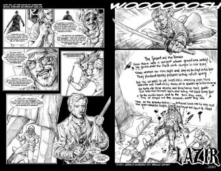 LAZIR 2 pages teaser by The-Hand