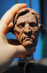 clay sketch - 1 June 2014 by Intervain