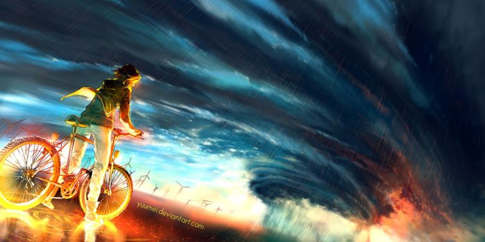 Into The Storm by yuumei