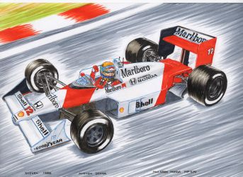 Mc Laren MP4 4 GP do Japao 1988 Suzuka by wkohama