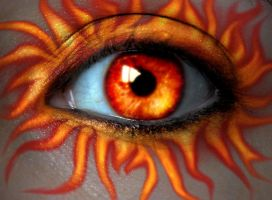 Fire Blaze Eye by asdfgfunky