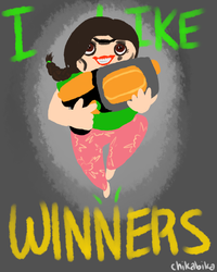 Steph Likes Winners Alt by chikabika