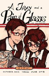 A Tray and a Pair of Glasses by Pompi