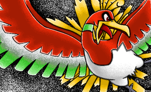 Ho-Oh: MS Paint by lucarioANDrilouROCK