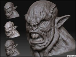 3DT Comp 1: Orc1 3.5hrs by Pogimonz