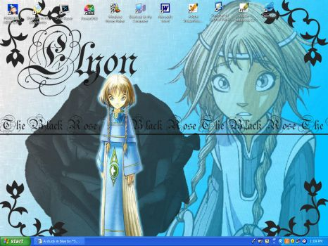 W.I.T.C.H Elyon wallpaper by Hentai-Sweetie