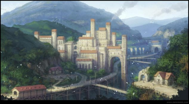Castle by penemenn