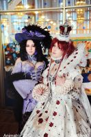 Trinity Blood Cosplay: Esther and Jane by alberti