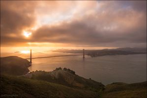 Golden Gate by MaciejKarcz
