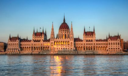 Hungarian Parliament Building by roman-gp
