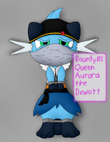 Bounty #3: Queen Aurora (For Shadowlord90) by Unownace