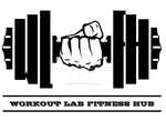 workout lab fitness hub logo by raocreations