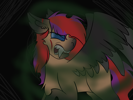 :ContestEntry: The Monster in hiding by LittleLifeDoodles