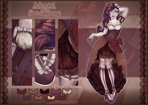 [OPEN Auction] Adopt #1 by DoombieDraws