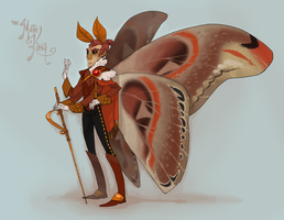 THE MOTH KING by AgentDax