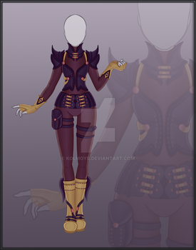 [Close] Adoptable Outfit Auction 24 by Kolmoys