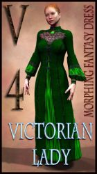 Victorian Lady Costume Textures for MFD by mylochka