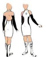 Portal Style Dress Concept by artbetep