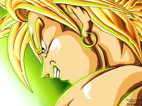Broly SSJ -Delighted- REMASTERED by JJJawor