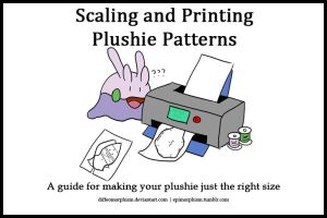 Scaling and Printing Plushie Patterns by Diffeomorphism