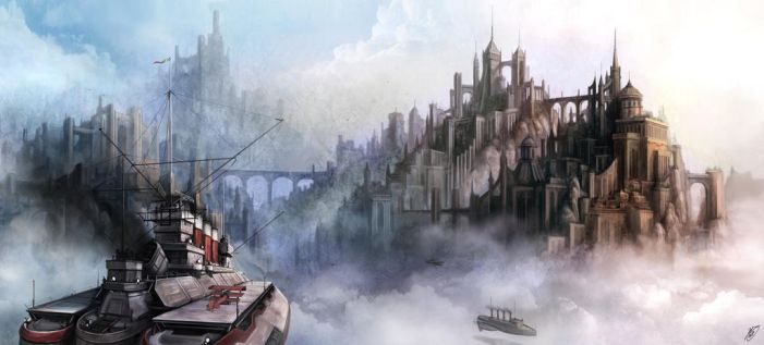 Cloud Castles by Luches