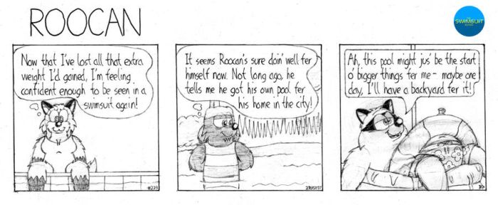 Roocan Strip 223 by BruBadger
