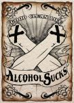 Straight edge poster by tizar