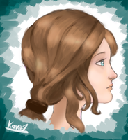 Hair Study by gentlemankevs
