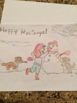 Holiday card project 2016 by F00000d