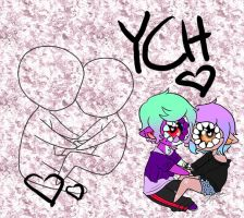 YCH Couple Cheebs: OPEN by Kaeilia