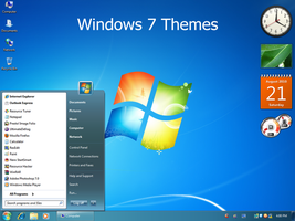 Windows 7 Themes by Vher528