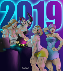 [C] Jessy's New Year's Party by roemesquita