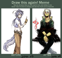 Before and After Meme by NoneNess