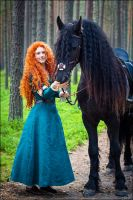 Merida and Angus by Zoisite-Virupaksha