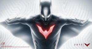 Batman Beyond horizontal by tiguybou