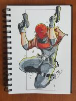 Day 116 Red hood by TomatoStyles