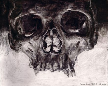 Skull, aka Mr Dead Head by e-tahn